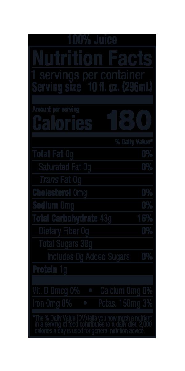 Apple Juice 10 fl. oz. Glass Bottle