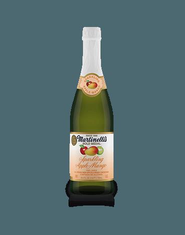 Sparkling Apple-Mango Juice