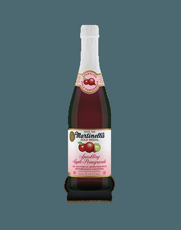 Sparkling Apple-Pomegranate Juice
