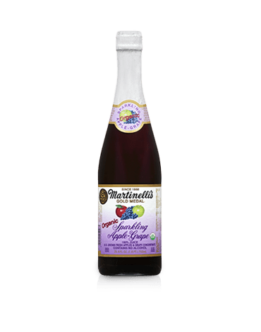 Organic Sparkling Apple-Grape