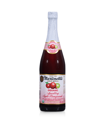 Organic Sparkling Apple-Pomegranate