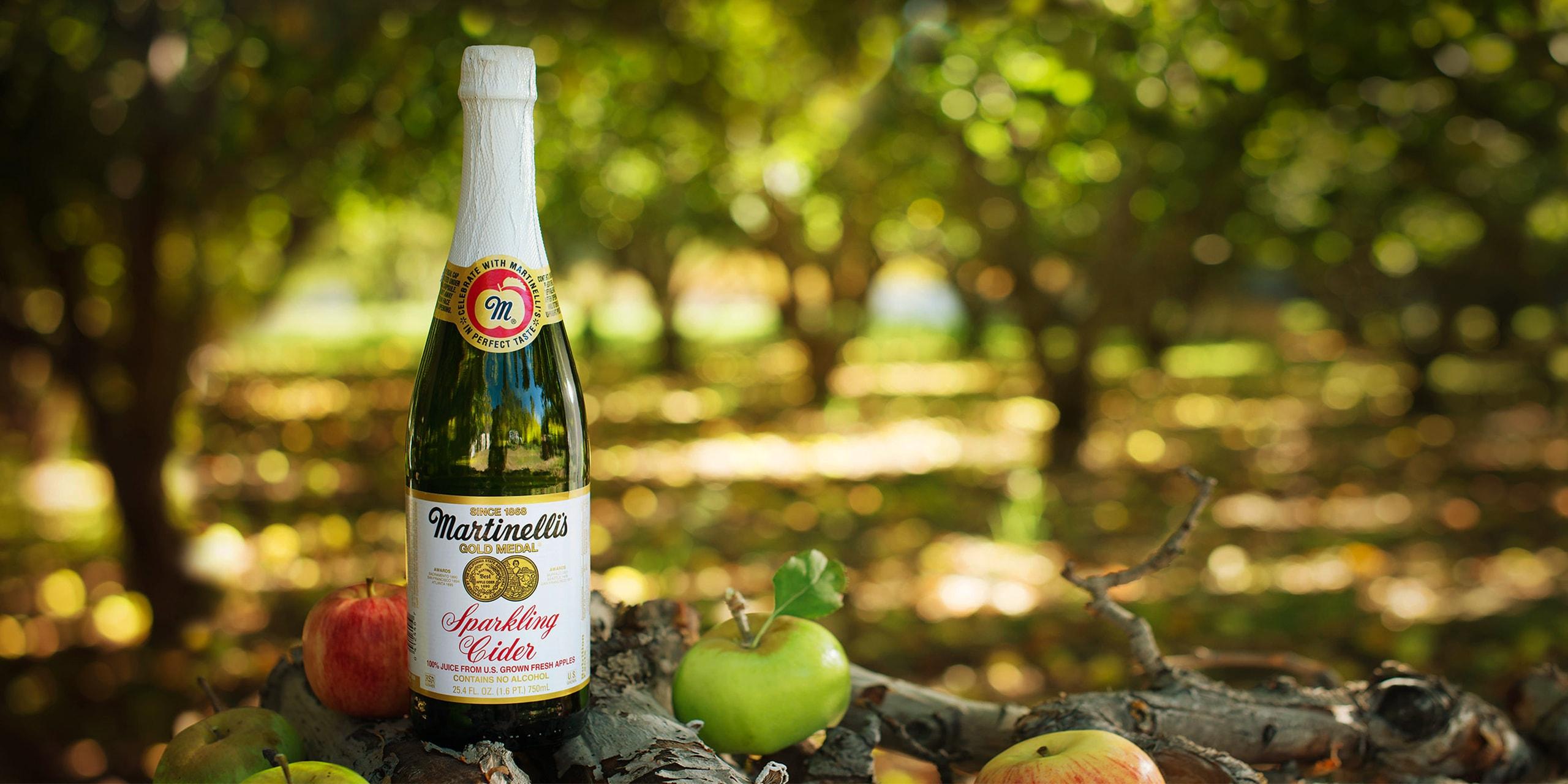 sparkling cider 25 4oz sparkling juices s martinelli co