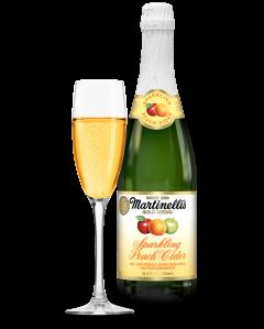 Sparkling Peach Cider 25.4 fl. oz.