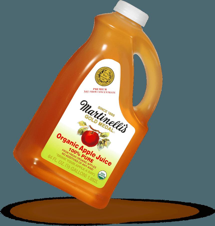 Organic Apple Juice 64 fl. oz.