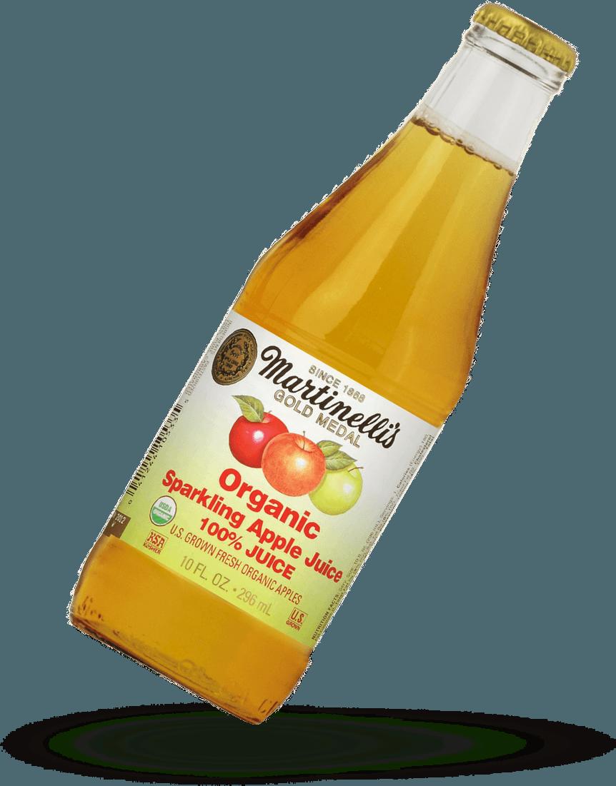 Organic Sparkling Apple Juice Organic Juices S Martinelli Co