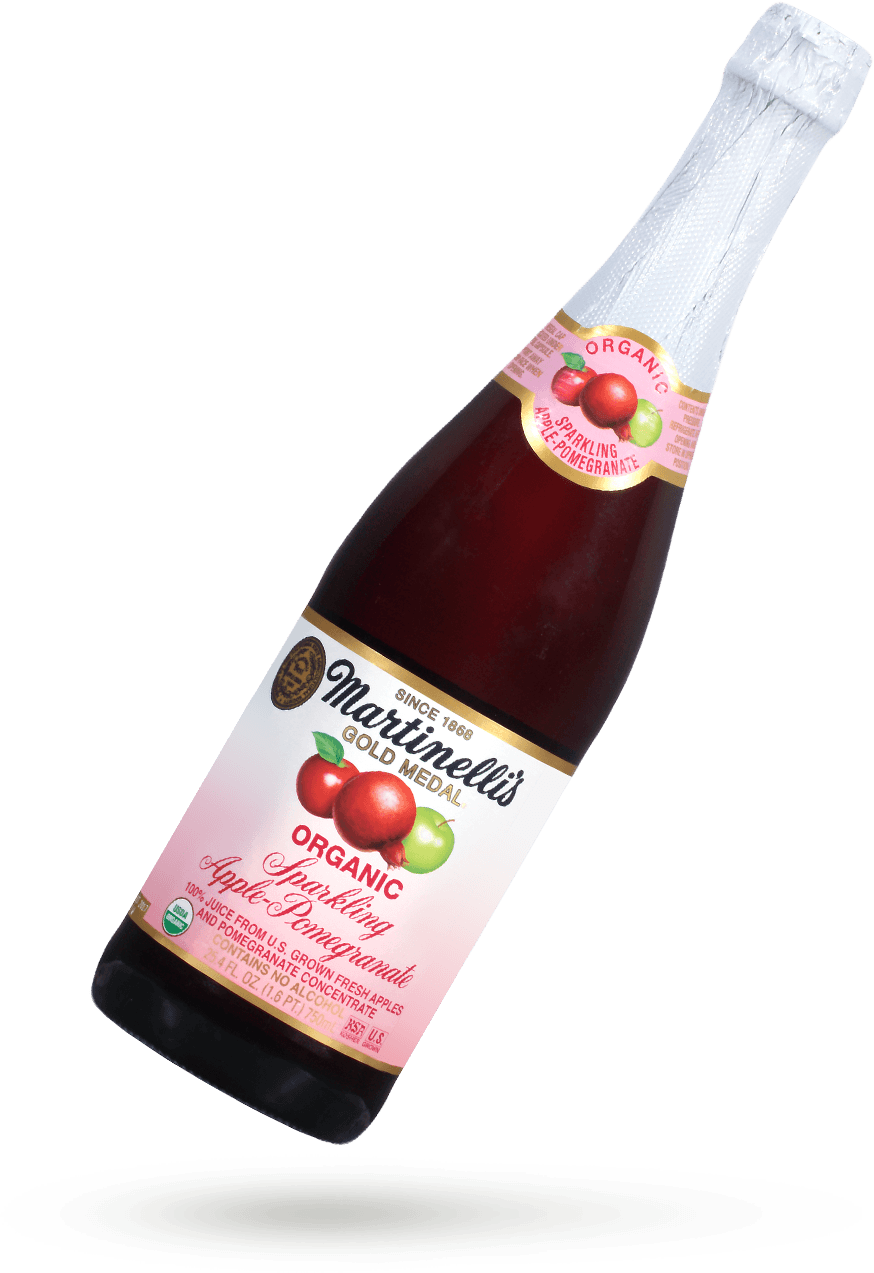 Organic Sparkling Apple-Pomegranate 25.4 fl. oz.