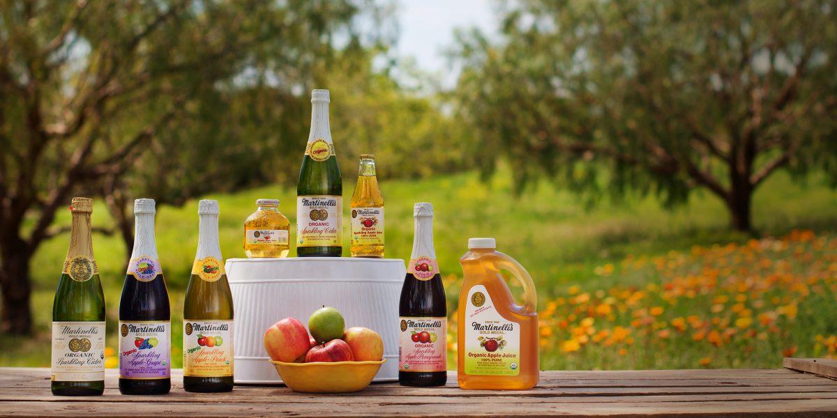 Organic Juices, Sparkling Ciders, & Blends