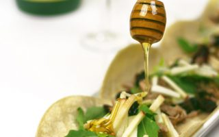 Slow Cooker Apple Cider Pulled Pork Tacos
