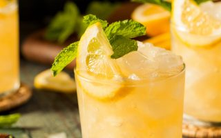 Sparkling Cider Mint Julep Mocktail Recipe