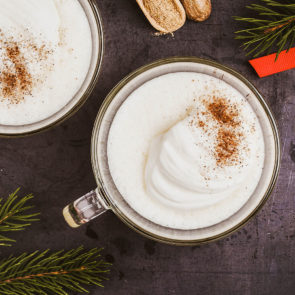 Hot Cider Egg Nog