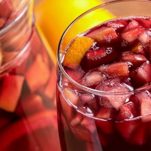 The Easiest (Virgin) Sparkling Sangria