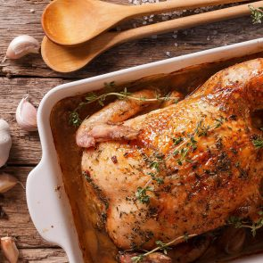 Martinelli's Apple Rosemary Roast Chicken