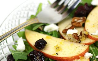 Apple Pecan Salad with Zesty Apple Dressing