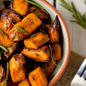Cider-Baked Sweet Potatoes