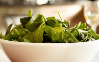 Spinach Salad With Martinelli's Vinaigrette