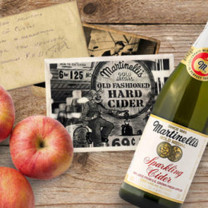 In 1943, a fire broke out in a warehouse storing Martinelli's Cider, destroying a large portion of their product. Stephen C. Martinelli recalls the street being ankle deep in apple juice.