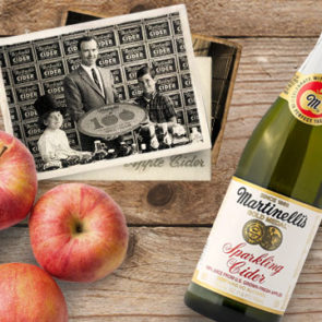 In 1977, hard cider production was discontinued to make room for the popular sparkling apple juice product.