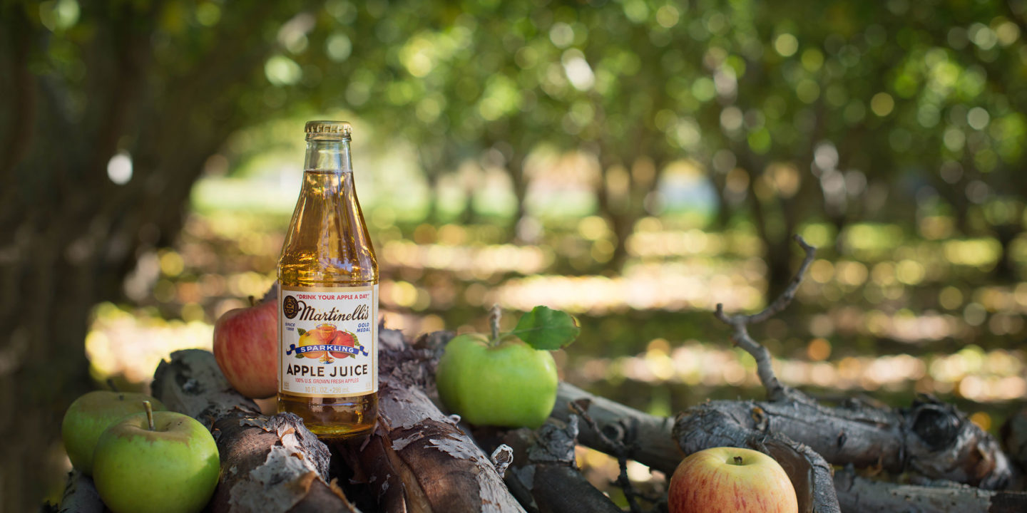 Sparkling Apple Juice 10 fl. oz.