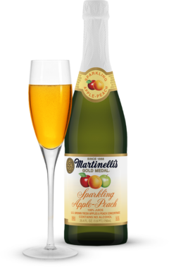 Sparkling Apple-Peach 25.4 fl. oz.