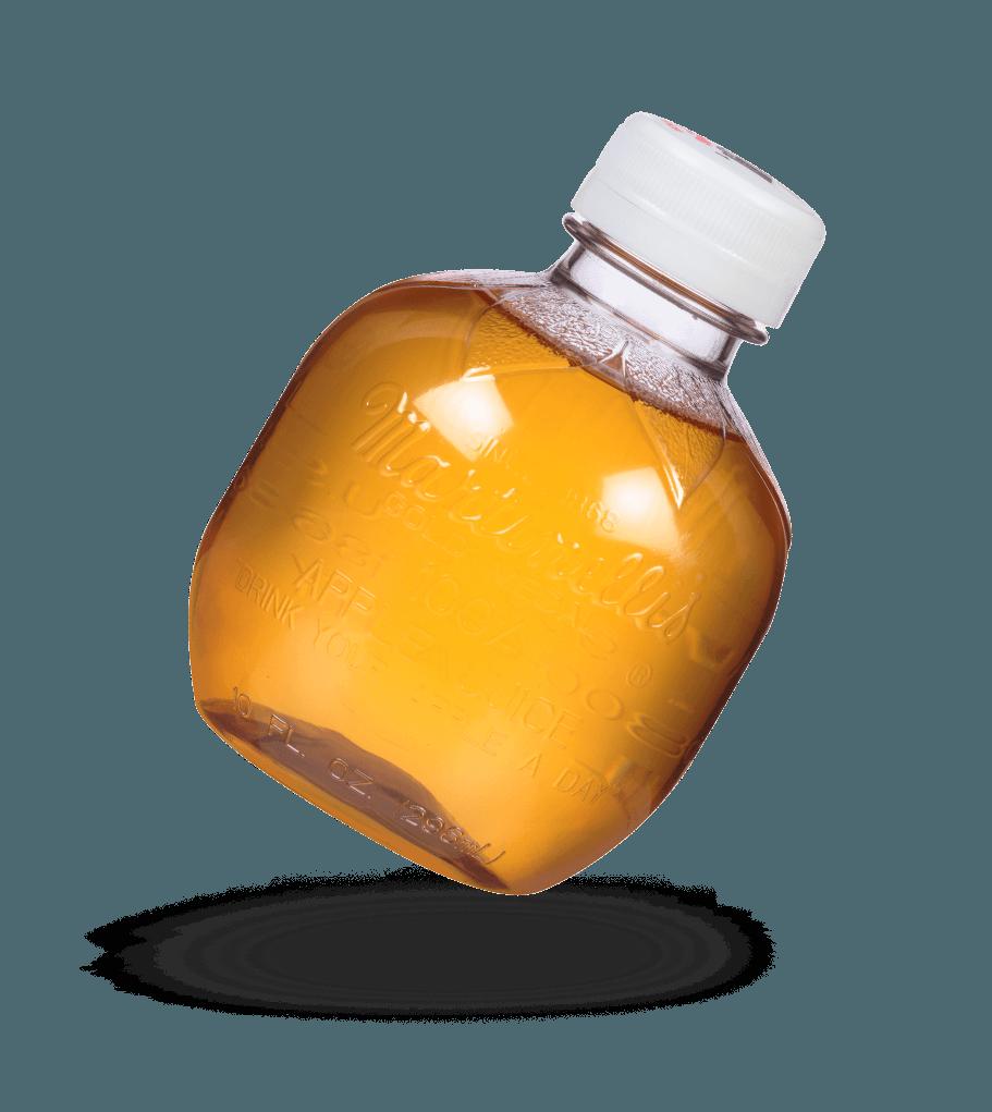 Apple Juice 10 fl. oz. PET Plastic