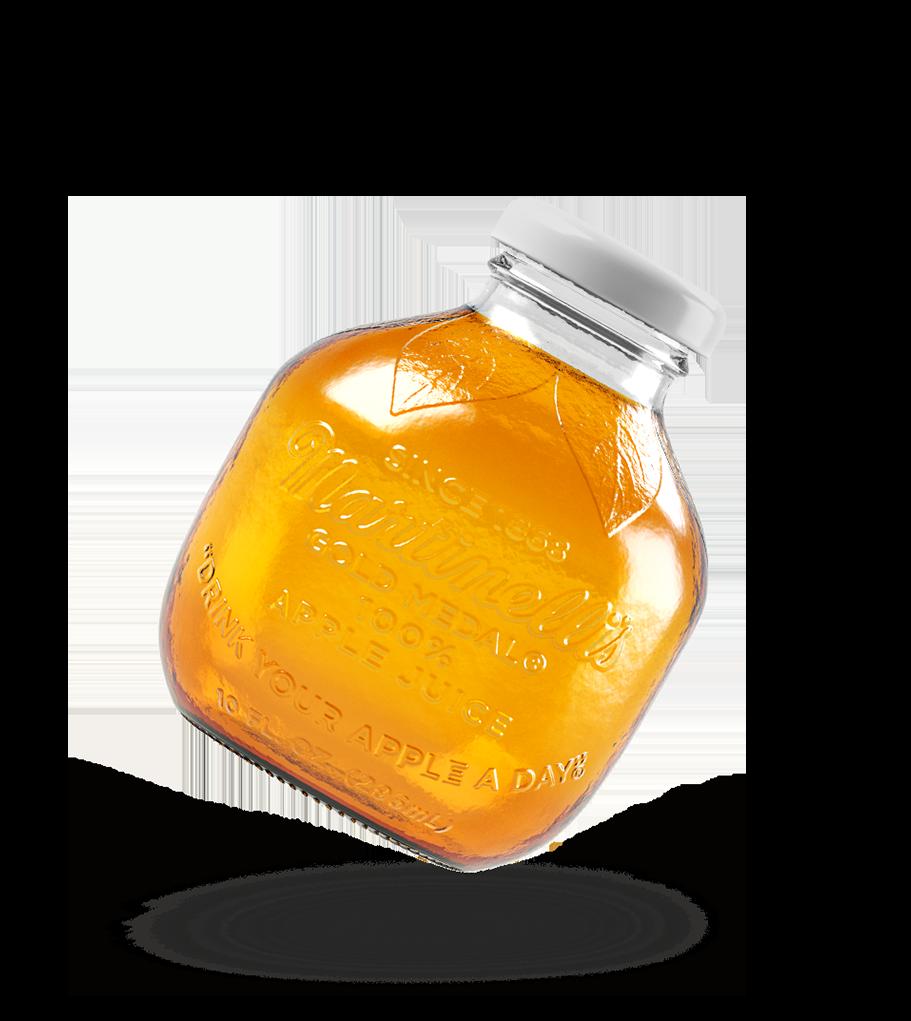 Apple Juice 10 fl. oz. Glass Without Label