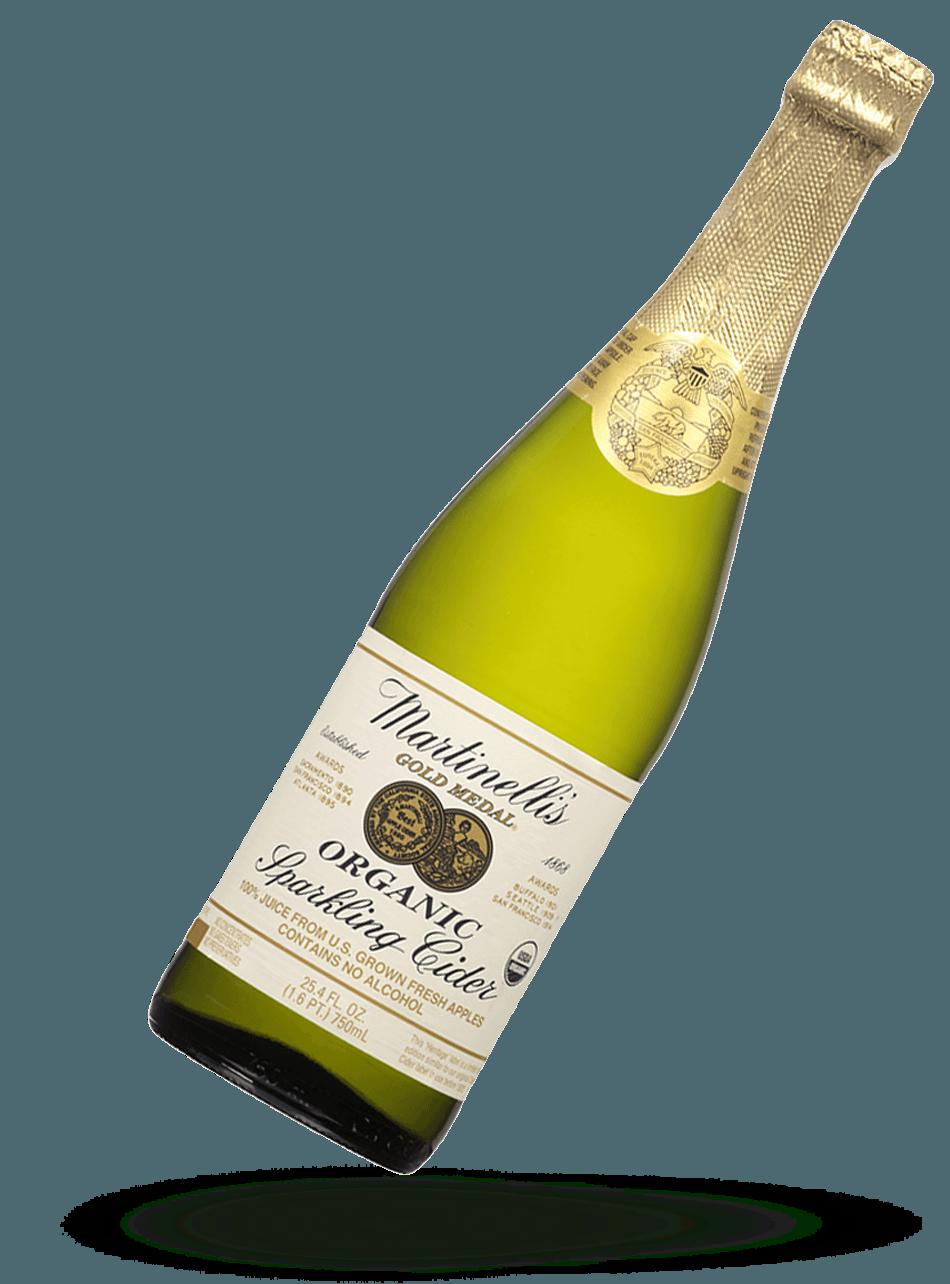 Organic Heritage Label Sparkling Cider 25.4 fl. oz.