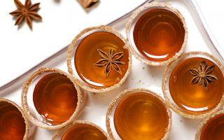 Gourmet Apple Cider Jell-O Shots