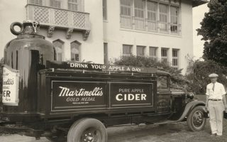 Restoring Our History: Martinelli's Apple Delivery Trucks