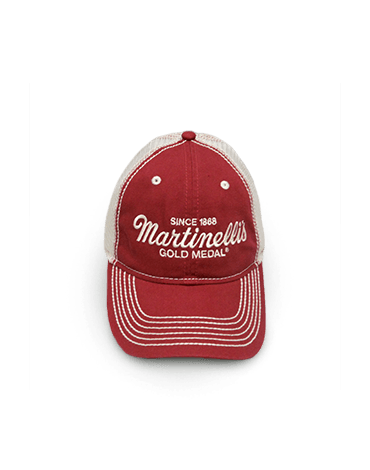 Martinelli's Trucker Hat - Red