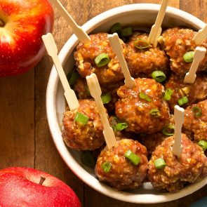 Apple Glazed Meatballs