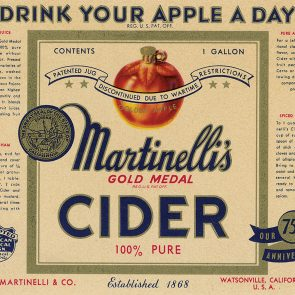 Decades of Martinelli's Thanksgiving Recipes