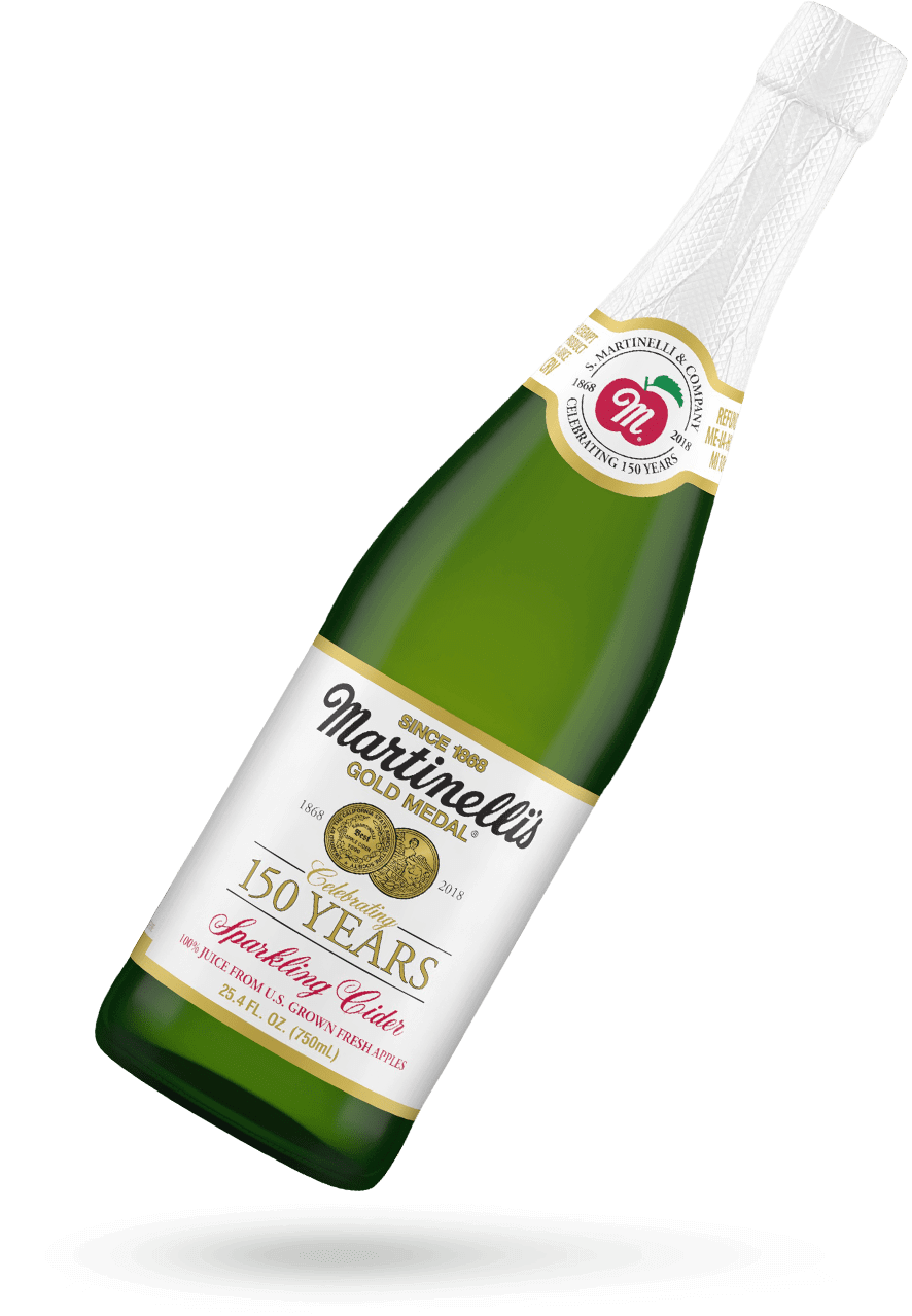 150th Anniversary Label Sparkling Cider 25.4 fl. oz.