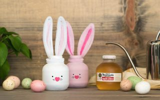 DIY Martinelli's Apple Juice Easter Bunny