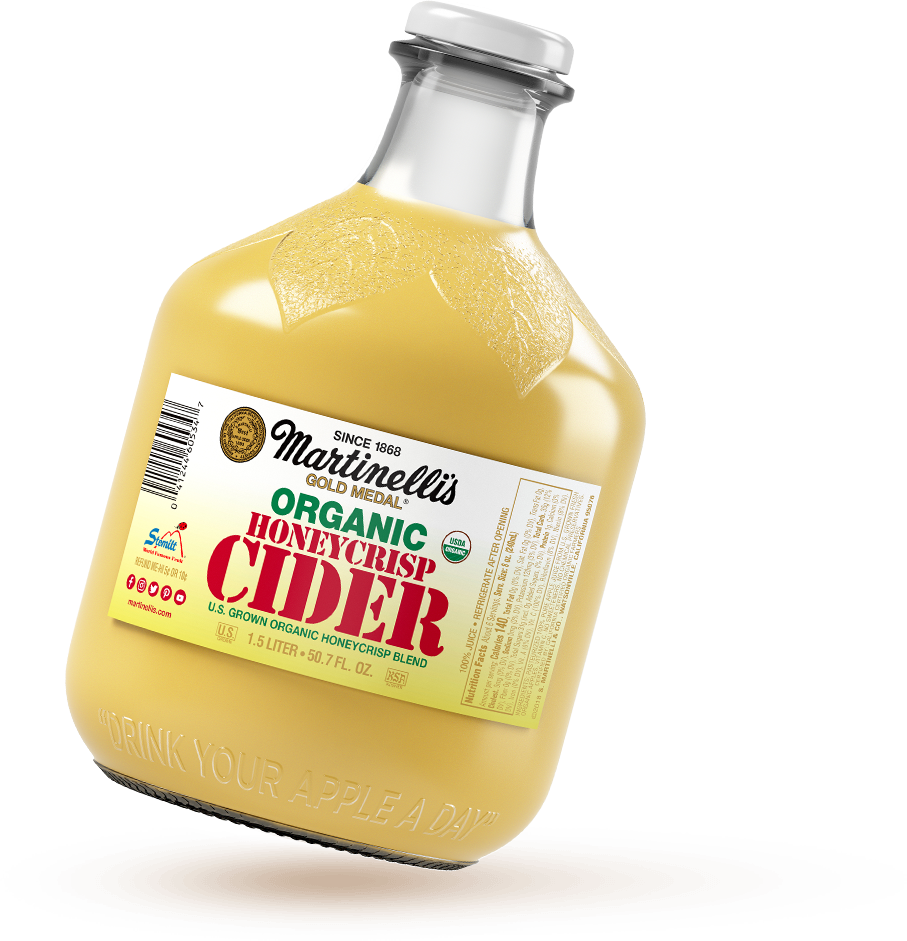 Organic Unfiltered Honeycrisp Apple Cider 50.7 fl. oz.