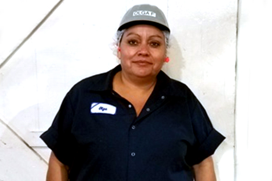 Olga Figueroa, Utility Attendant