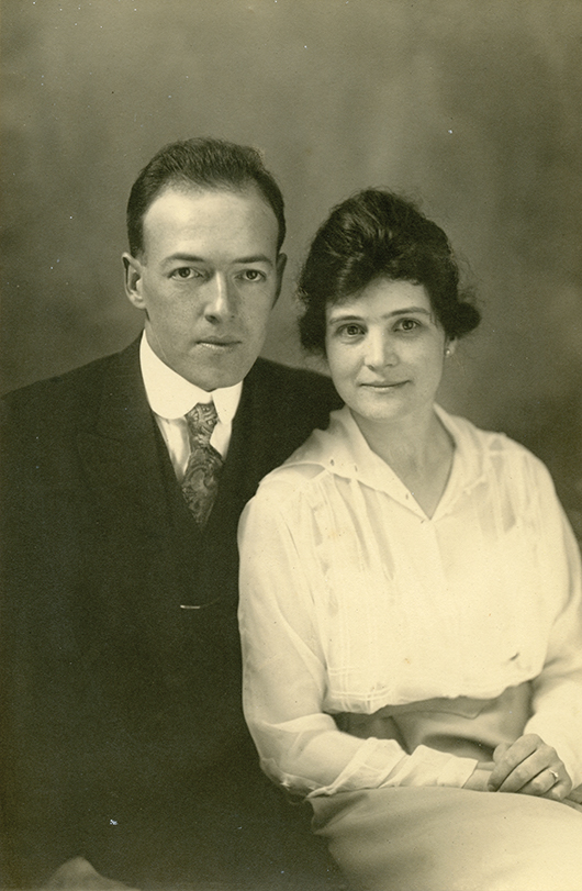 Hazel with her husband, Stephen Martinelli, Jr.