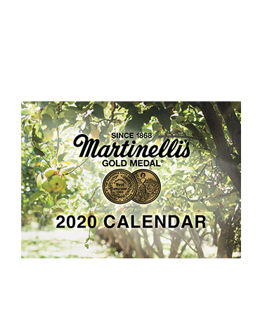Martinelli's 2020 Monthly Wall Calendar