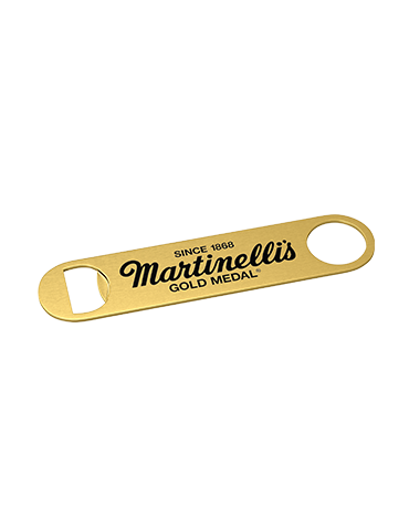 Martinelli's Paddle Style Bottle Opener – Brushed Gold