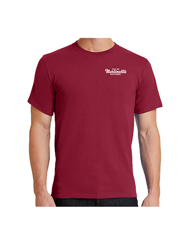 Martinelli's Short Sleeve T-Shirt – Red