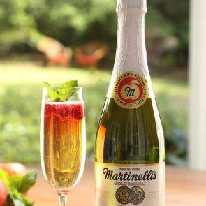 Martinelli's Raspberry Mint Sparkler