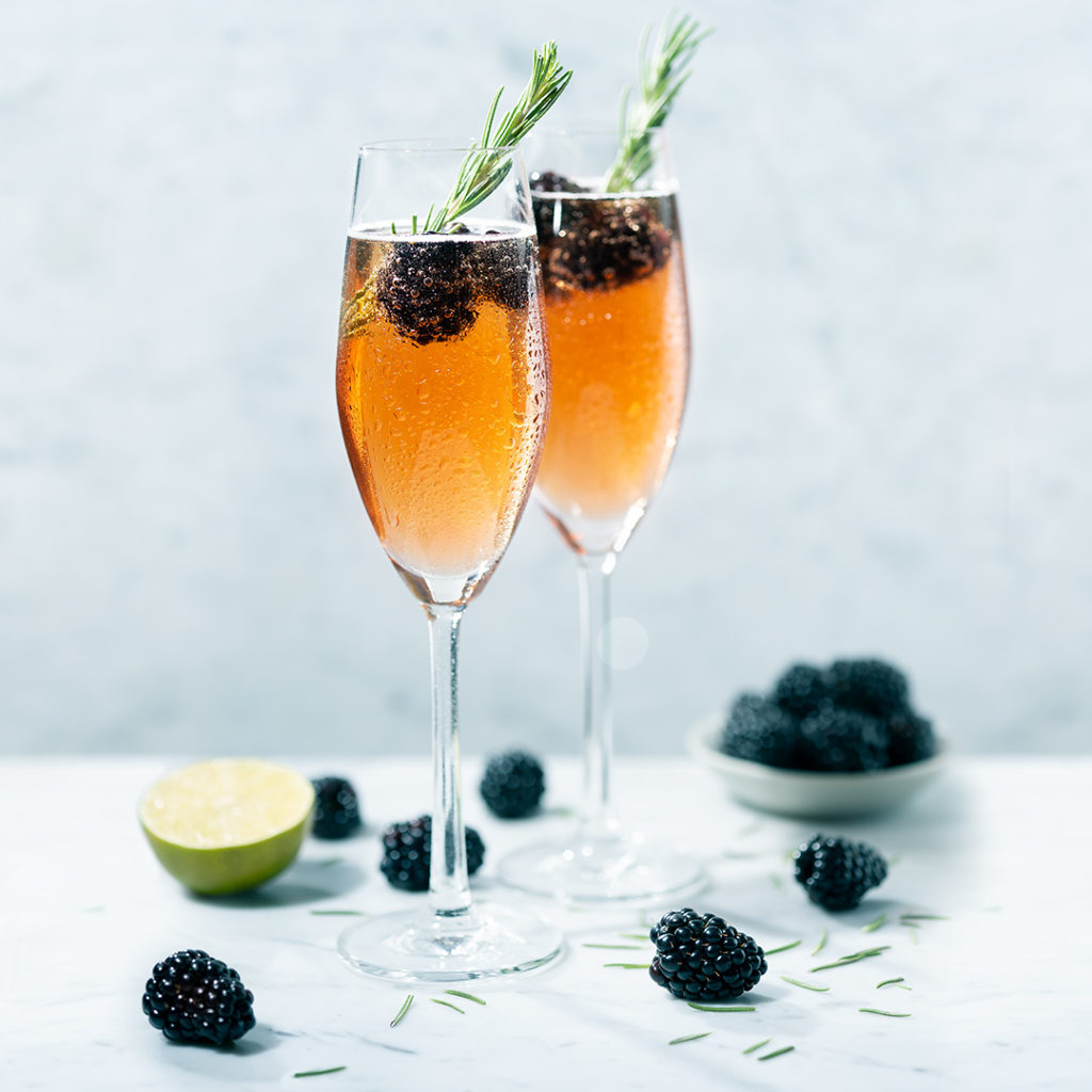 Sparkling Berry Cocktail