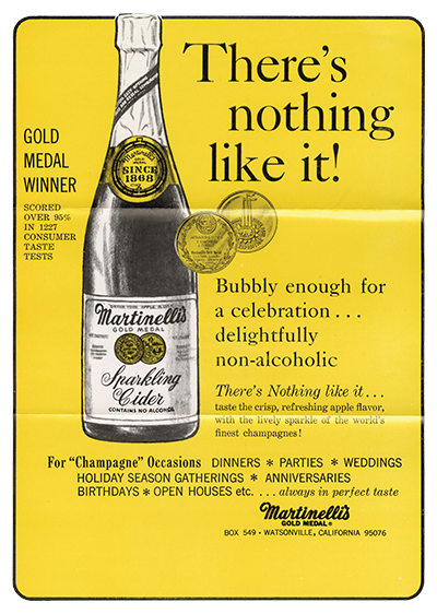 There's Nothing Like It Sparkling Cider Slogan