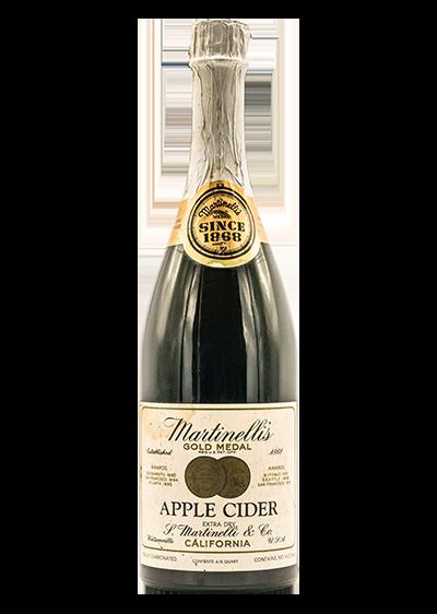 Martinelli's 1960's Cider Champagne Bottle