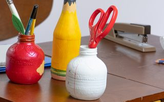 DIY Back-to-School Crafty Supplies Holders