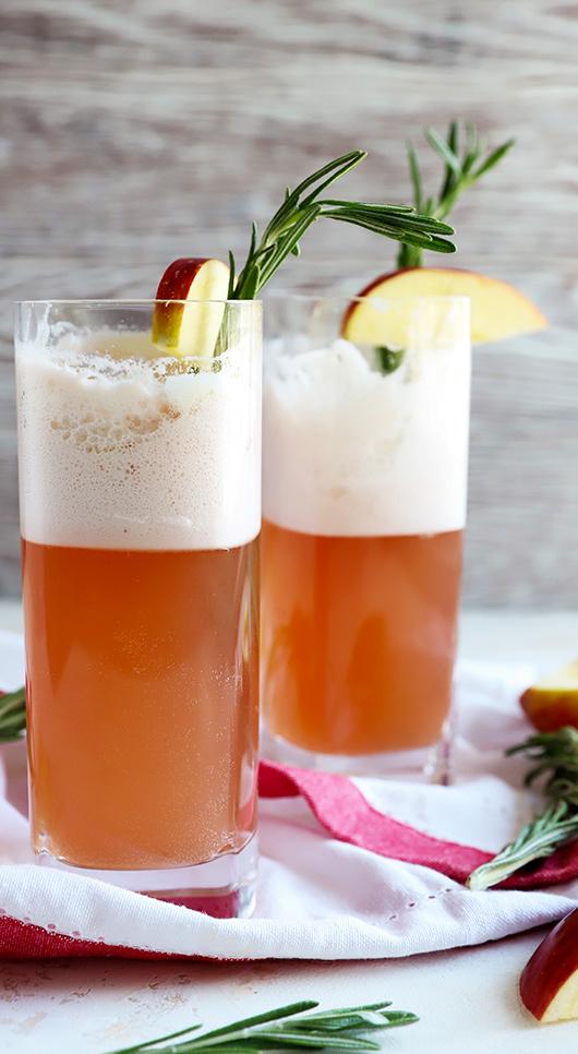 Cranberry Gin Fiz