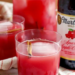 Apple Cranberry Sparkling Punch