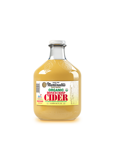 Organic Unfiltered Honeycrisp Apple Cider