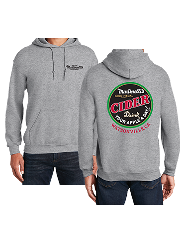 Martinelli's Grey Pullover Hoodie
