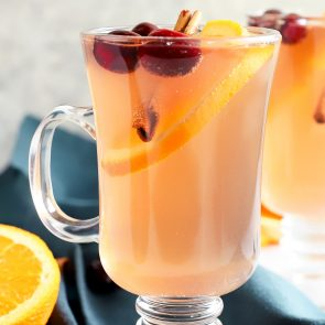 Apple Cranberry Hot Toddy