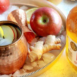 Ginger Apple Mocktail